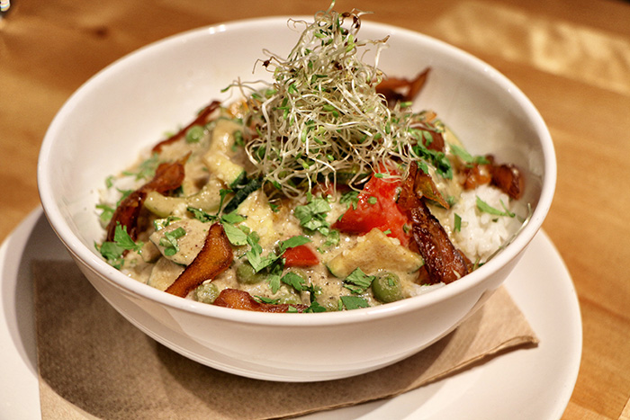 Vegan essen in Wien - Gemüsecurry