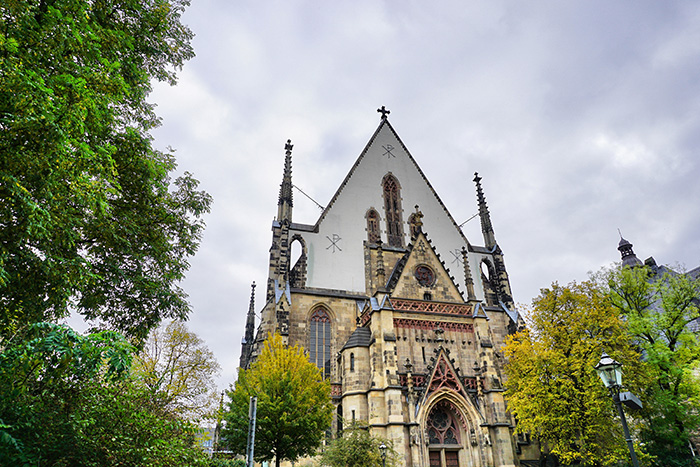 Thomaskirche Leipzig Sehenswuerdigkeiten