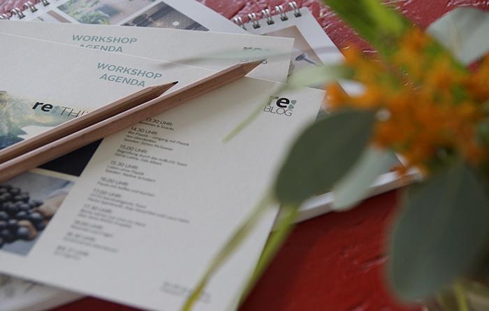 Bloggerworkshop re:think über Nachhaltigkeit