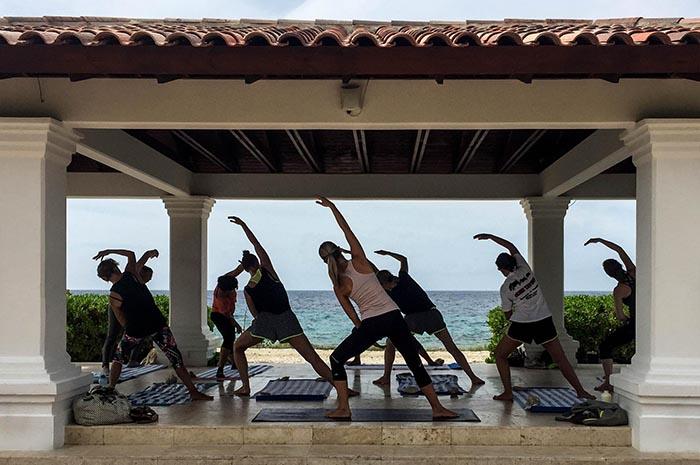 Curaçao-Aktiv-Urlaub-Pilates