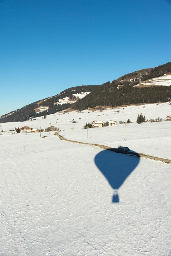 Dolomitenregion Drei Zinnen_Heißluftballonfahrt 2