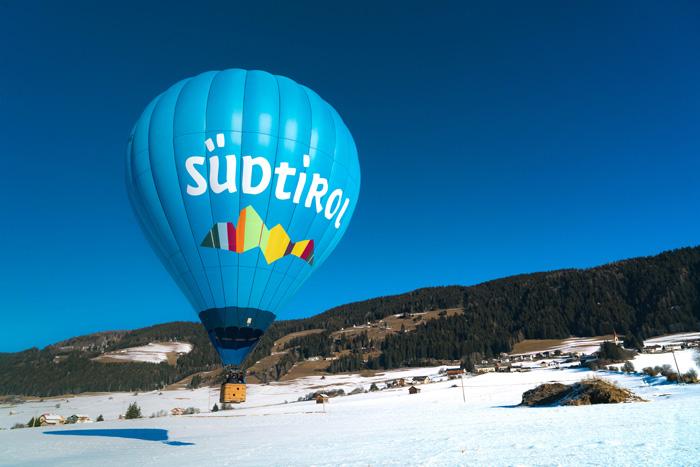 Dolomitenregion Drei Zinnen_Heißluftballonfahrt