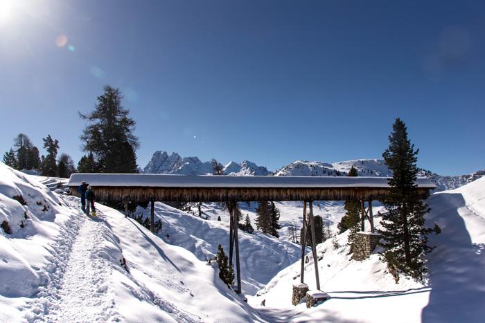 Dolomitenregion Drei Zinnen Rundwanderung Winter 2