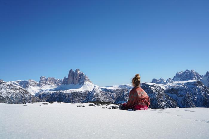 Dolomitenregion Drei Zinnen_Schneeschuhwanderung Drei Zinnen