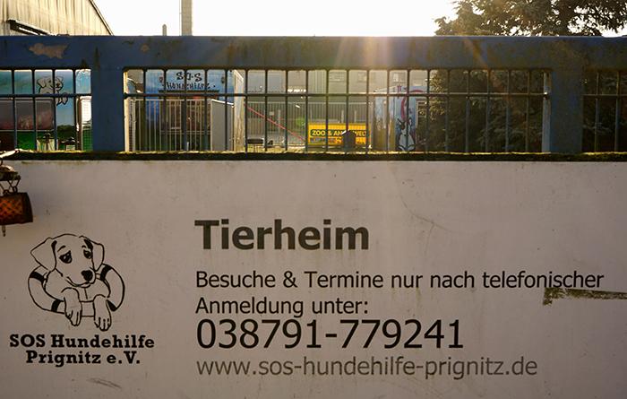 Tierheim-Prignitz-Schild