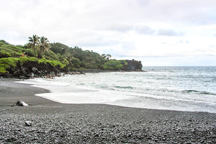 Hawaii Inselhopping Reisebericht-Maui-Black Sand