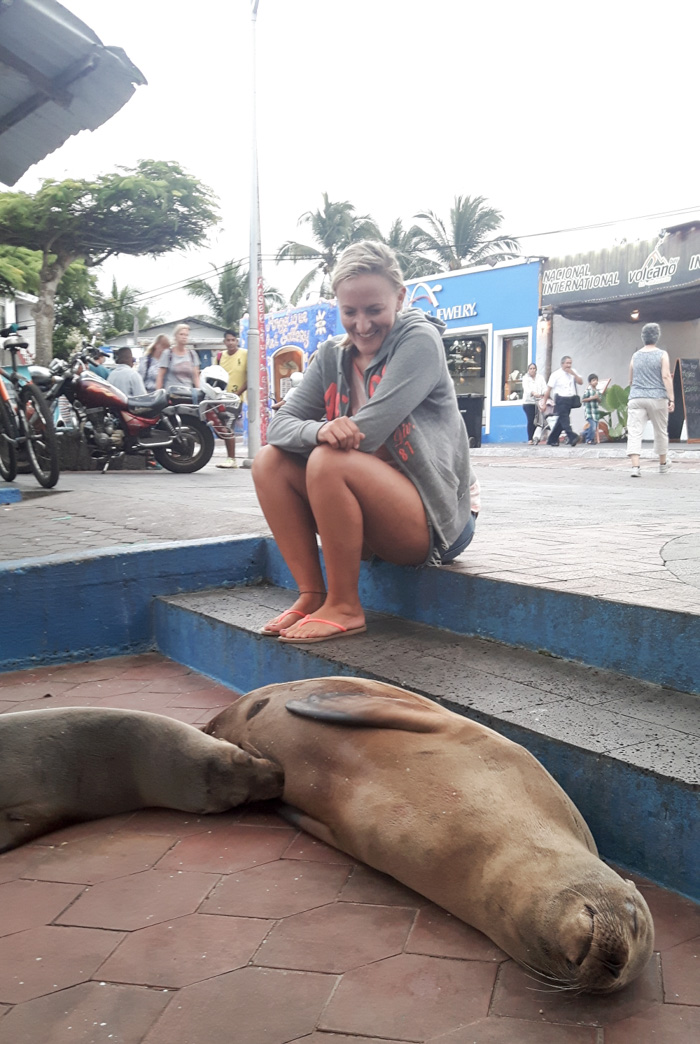 Galapagosinseln günstig bereisen-City