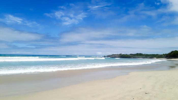 Galapagosinseln günstig bereisen-Strand