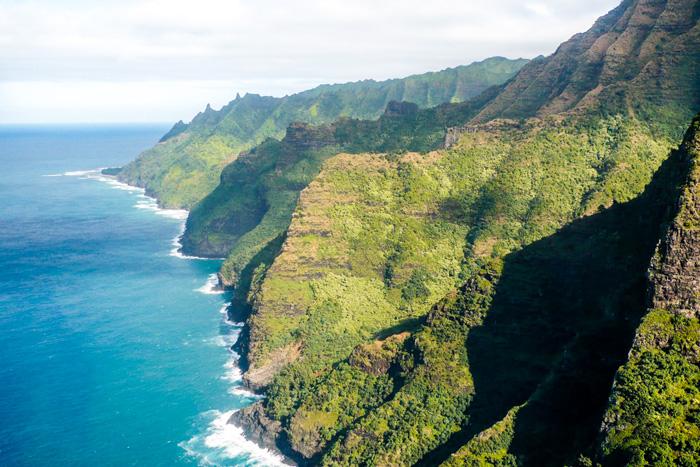 Hawaii Inselhopping Reisebericht-Kauai-Heli Flight