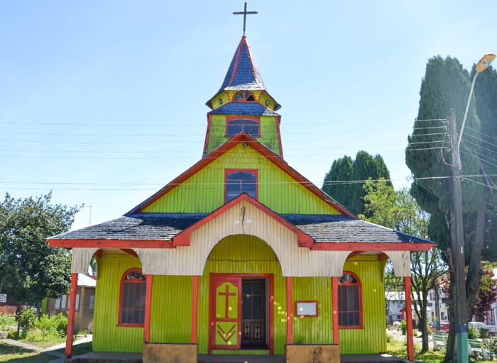 Chiloé Reisetipps-Holzkirche Quemchi