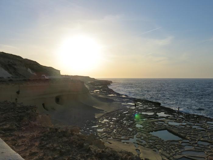 Malta Sehenswürdigkeiten-Sonnenuntergang