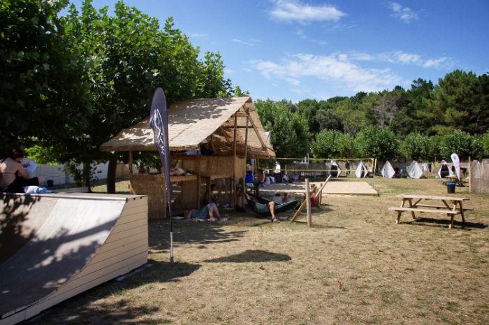 Chillen im Pure Surfcamp