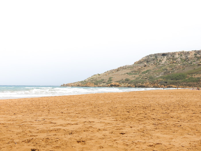 Malta Sehenswürdigkeiten-Ramla Bay
