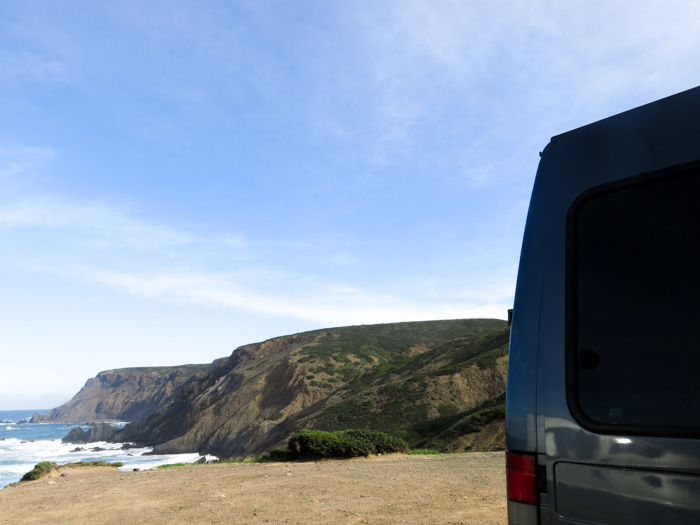 Roadtrip Atlantikküste Spanien Portugal-Sagres Camper