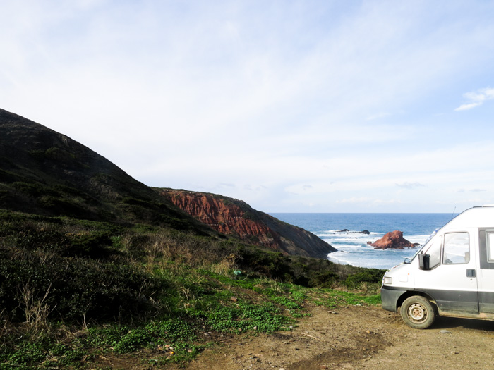 Roadtrip Atlantikküste Spanien Portugal-Strand Sagres