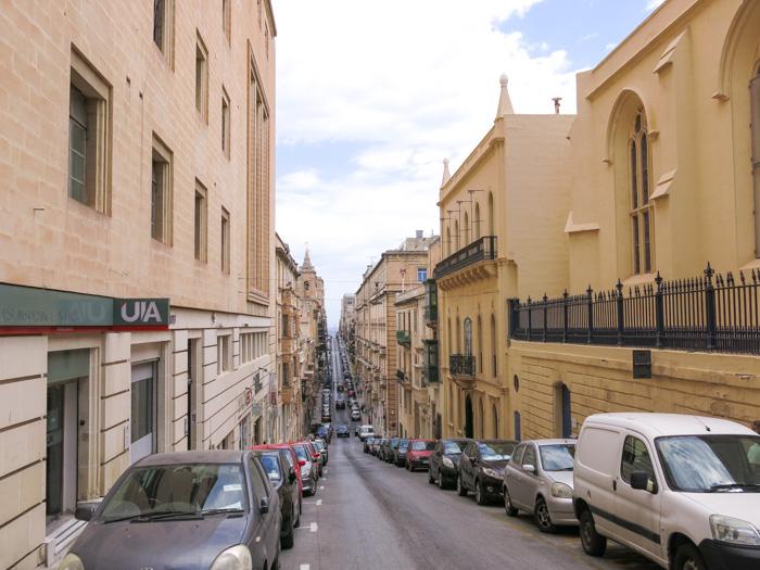 Malta Sehenswürdigkeiten-Sliema Gasse
