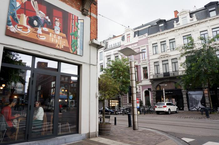 Belgien mit Wohnmobil Reisebericht-Mittagsstopp