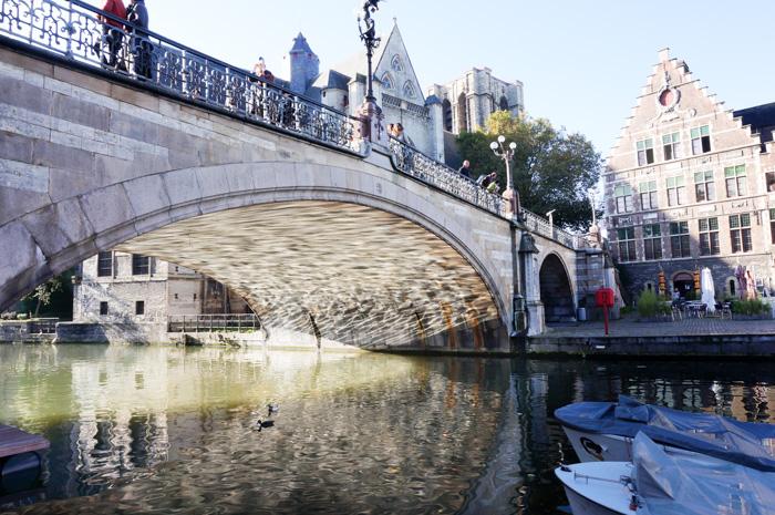 Belgien mit Wohnmobil Reisebericht-Brücke