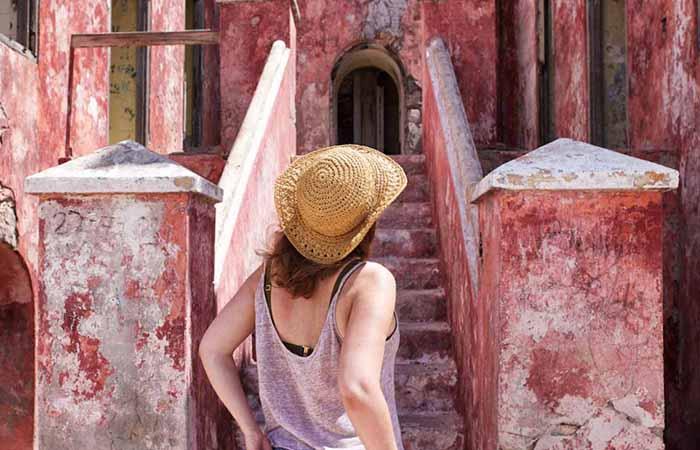 Klein Curacao Leuchtturm Insel