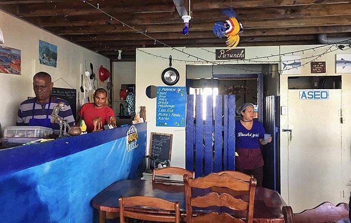frischer Fisch, Restaurant Purunchi Curacao