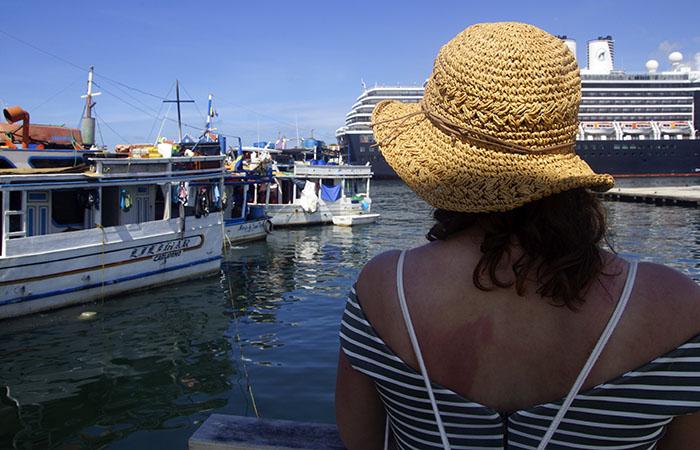 Hafen Markt von Willemstad Curacao