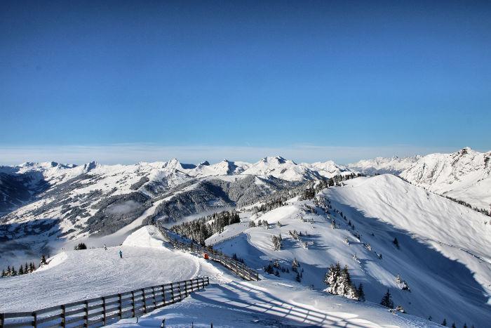 Bergwelt im Skicircus Saalbach