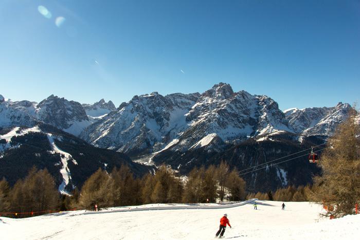 Skigebiet Drei Zinnen Dolomiten_Aussicht Dolomiten