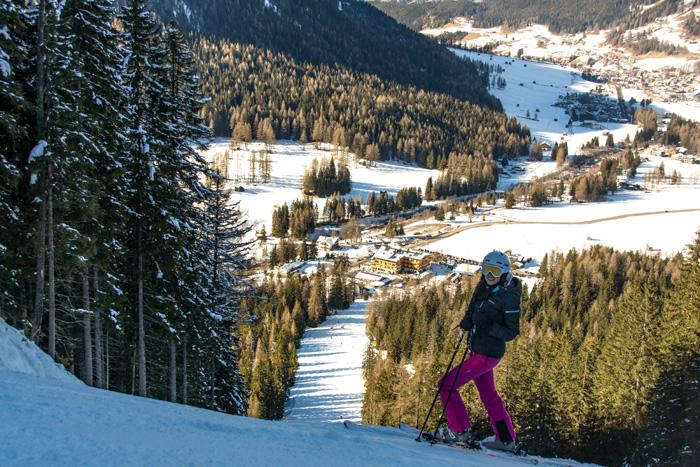 Skigebiet Drei Zinnen Dolomiten_Holzriese Steilste Piste