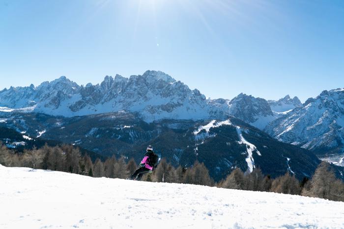 Skigebiet Drei Zinnen Dolomiten_Pistenabfahrt