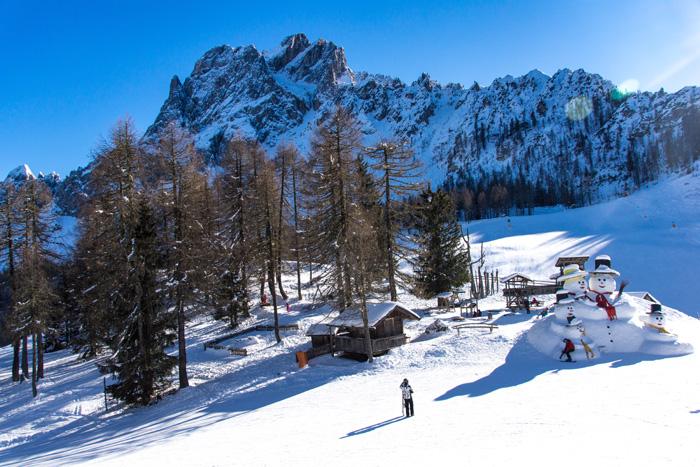 Skigebiet Drei Zinnen Dolomiten_Rotwand_Kinder
