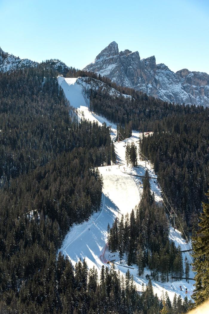 Skigebiet Drei Zinnen Dolomiten_Steilste Piste Holzriese