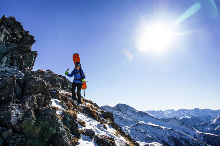 Skitour in Osttirol_Aufstieg 2