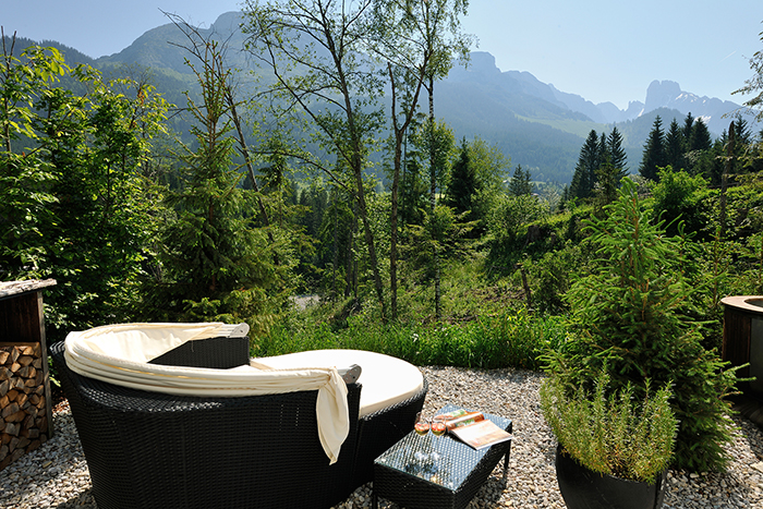 Die Relaxinsel der Annaberg Luxuslodge
