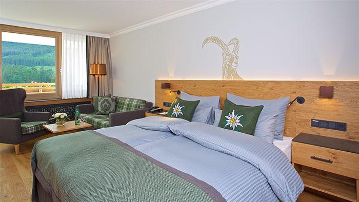 Arabella Alpenhotel Zimmer