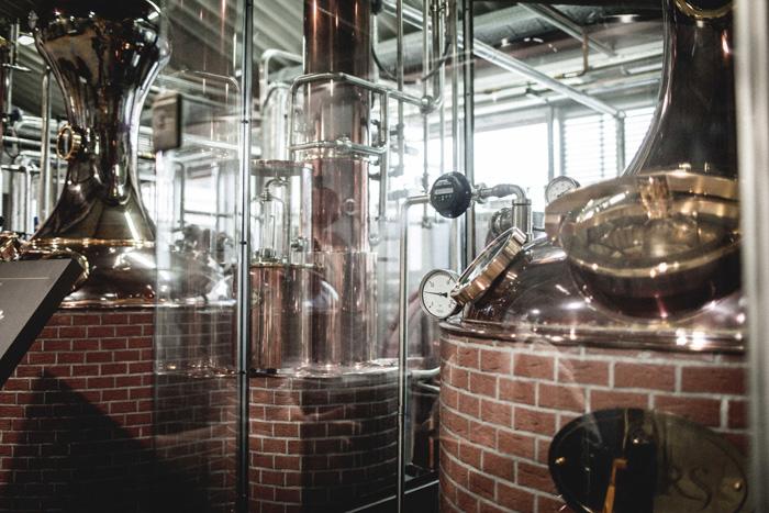 Whisky Destillation