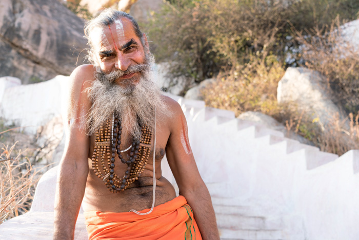 Inder in Hampi