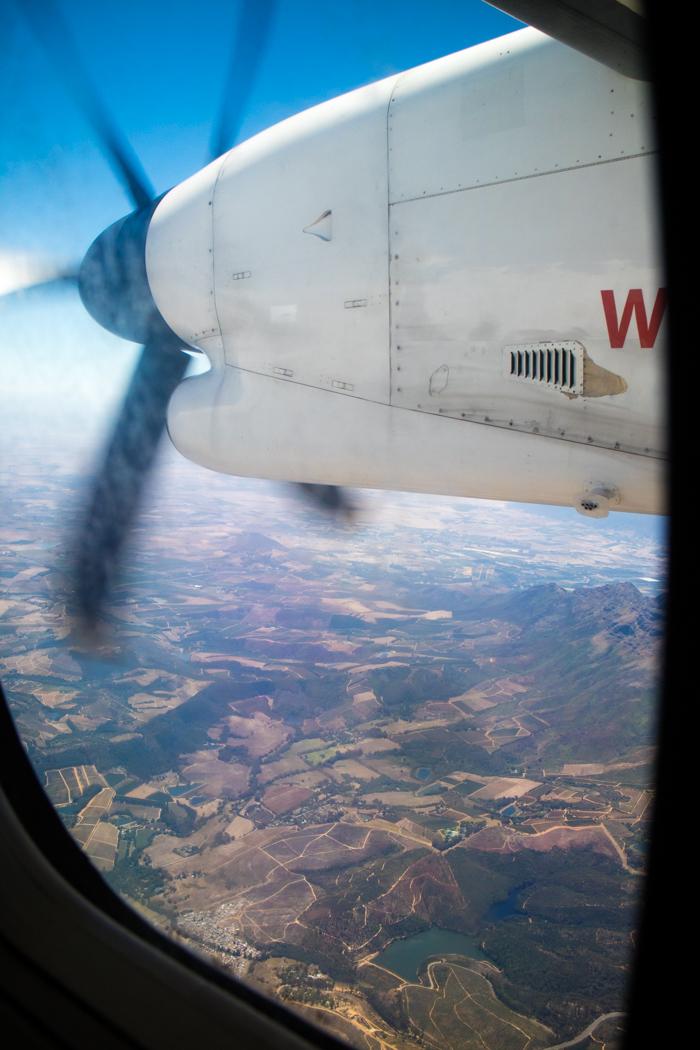 Landung in Kapstadt