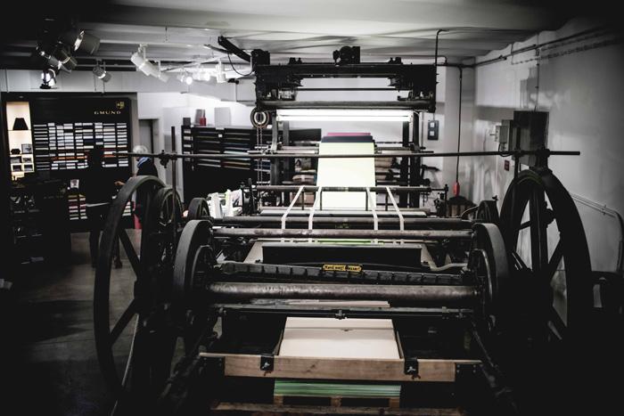 Papiermaschine Gmund