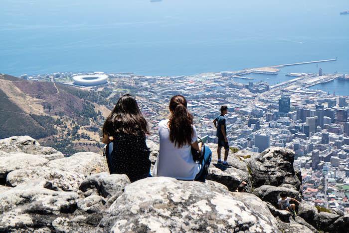 Ausblick genießen in Kapstadt
