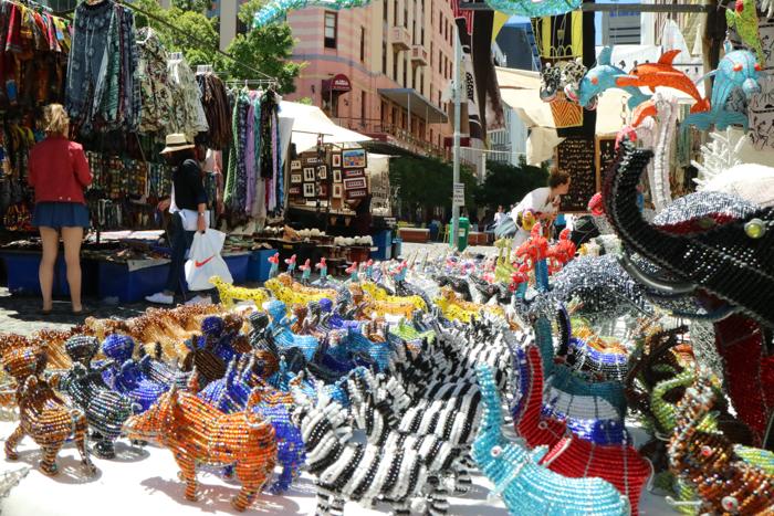 Der Green Market Square ist perfekt für Mitbringsel aus eurem Kapstadt Urlaub.