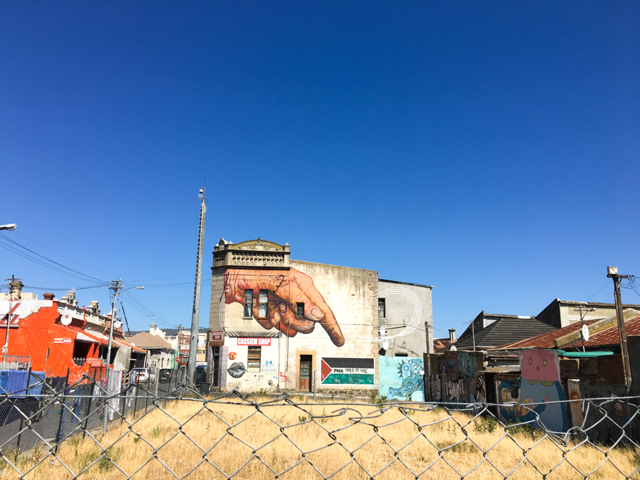 Alternatives Stadtviertel in Kapstadt: Woodstock