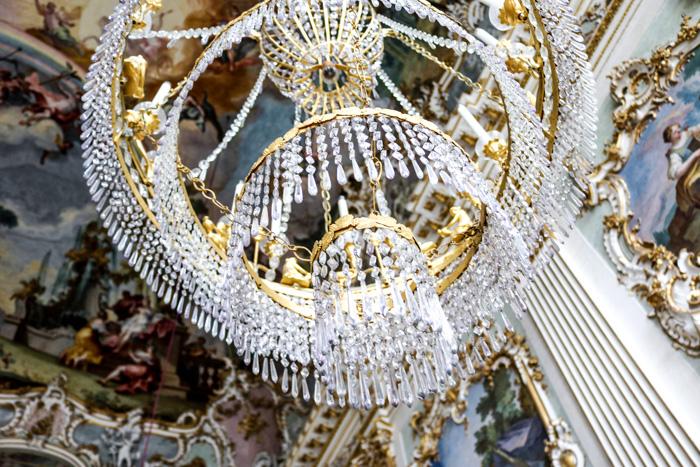 Kronleuchter in der Nymphenburg