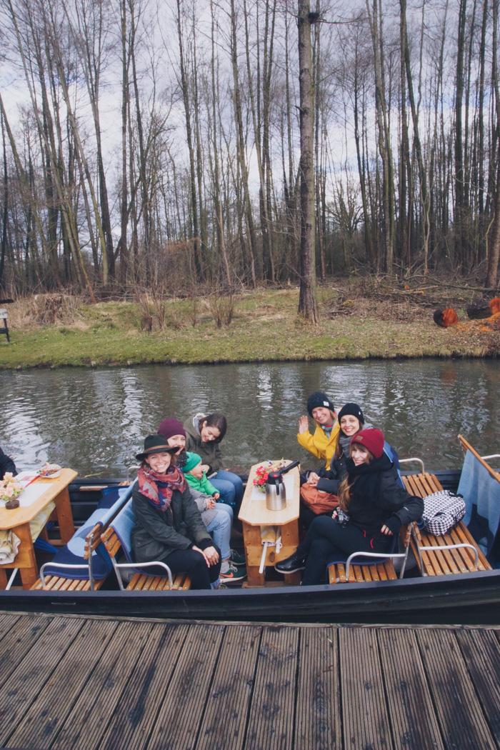 Lilies Diary Team im Spreewald