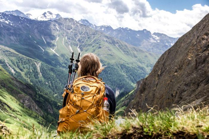 Pause beim Wandern in Osttirol