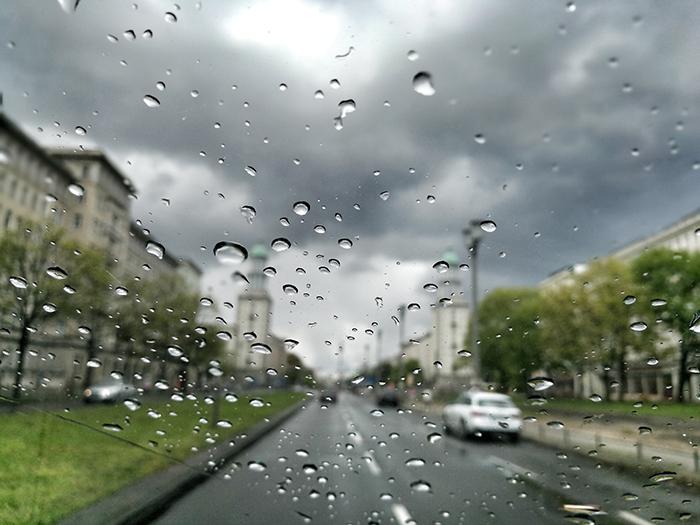 Makroaufnahmen Regenfotos