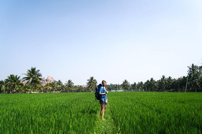 Reisfelder-Backpack