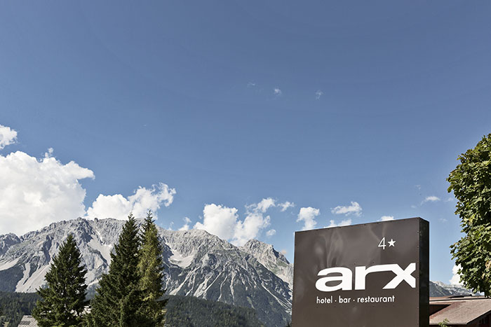 Das Hotel arc in Schladming