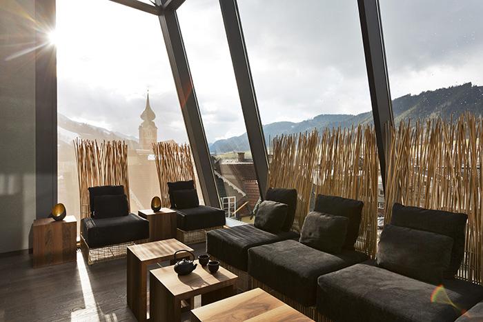 Das Teehaus des Hotel Brunner in Schladming