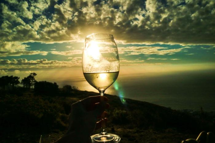 Kapstadt Signal Hill zum Sonnenuntergang