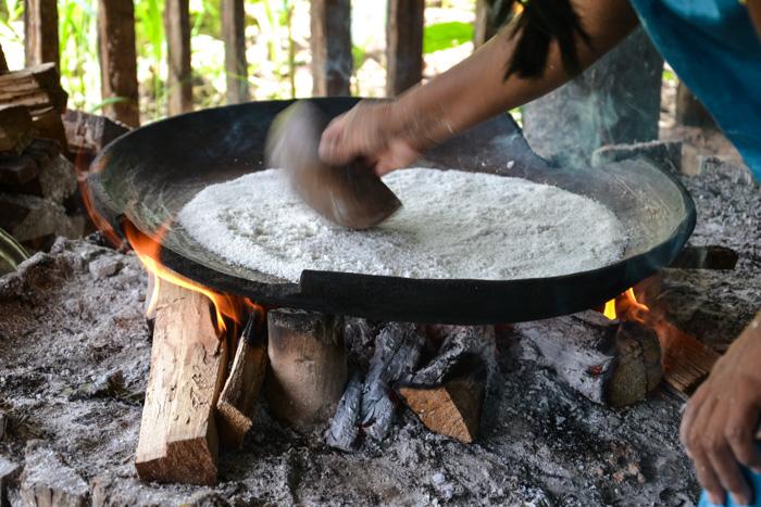 Zubereitung Casabe